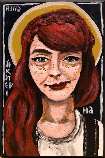 St. Catherine of Siena by Gracie Morbitzer