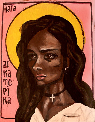 St. Catherine of Alexandria 5x7 print