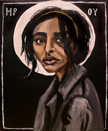 Mary 5x7 print