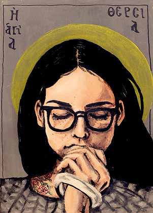 St. Therese 5x7 print