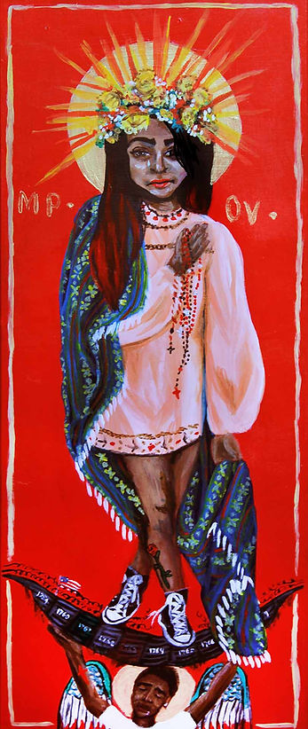 Our Lady of Guadalupe by Gracie Morbitzer