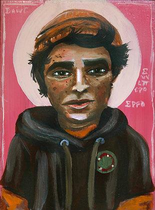 """St. Junipero Serra 8x10"""" Print"""