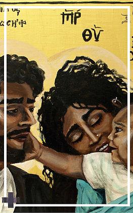 The Holy Family Prayer Card