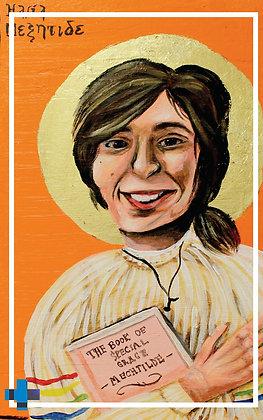 St. Mechtilde Prayer Card