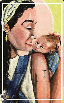 St. Gianna Prayer Card