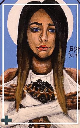 St. Veronica Prayer Card