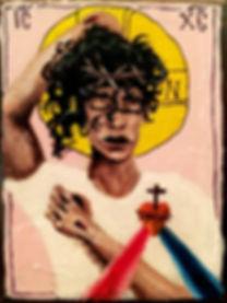 Sacred Heart of Jesus by Gracie Morbitzer