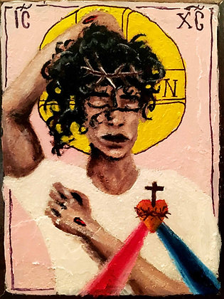 Jesus' Divine Mercy Prayer Card