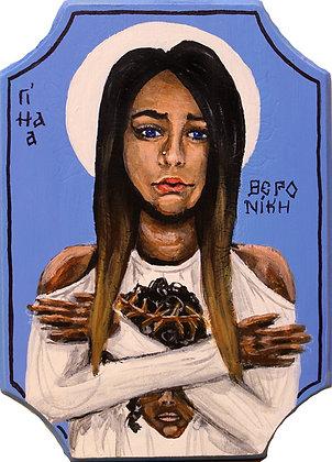 St. Veronica 5x7 print