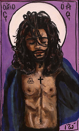 St. John the Bapist Prayer Card