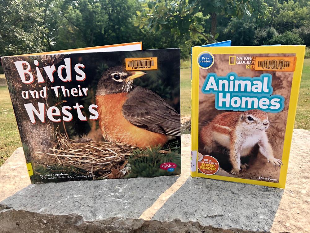 animal home books