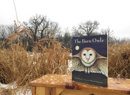 Naturalist Sara's Book Pick: 'The Barn Owls'