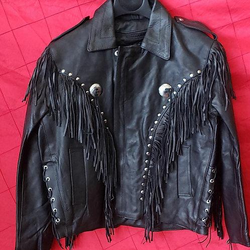 Men's fringe jacket