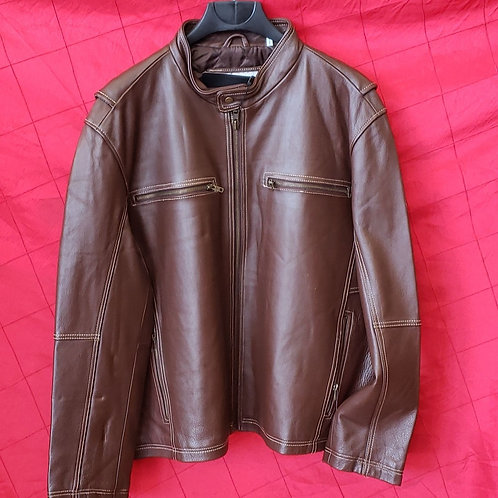 Men's leather fashion