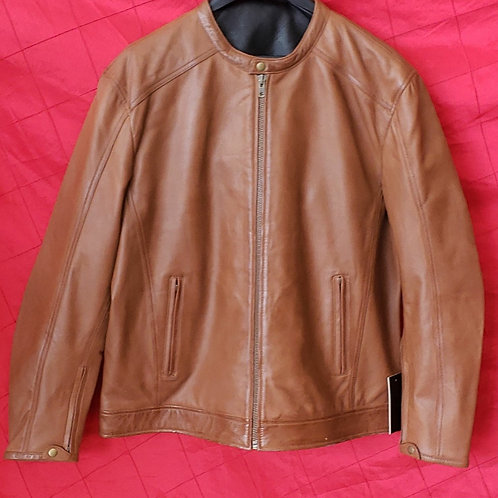 Men's Whisky lambskin jacket