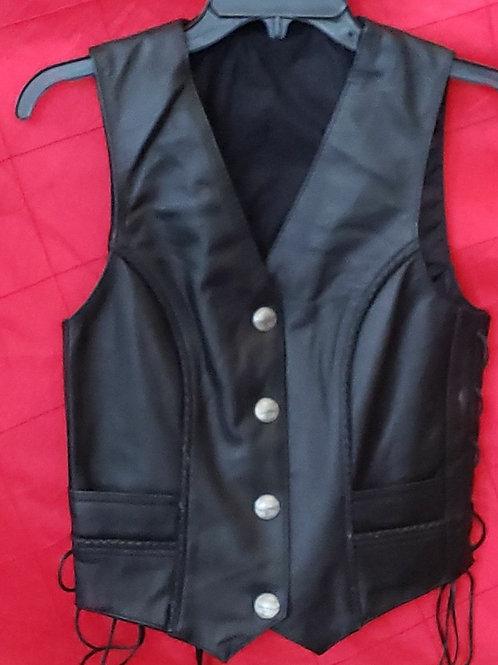 Ladies Buffalo head nickel vest