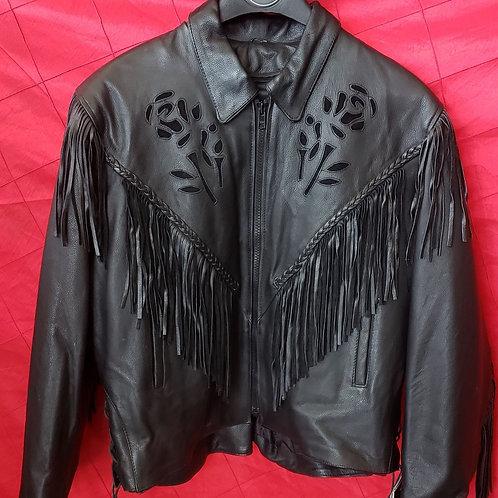 Ladies Black rose jacket