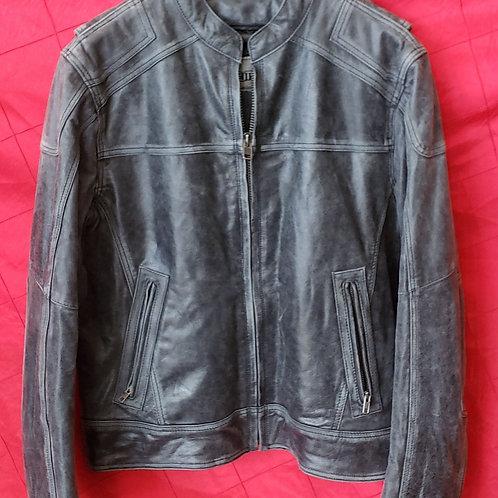Men's Gray lambskin jacket