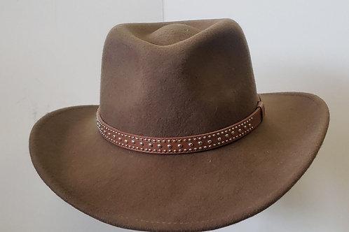 Crushable Water resistant felt hat