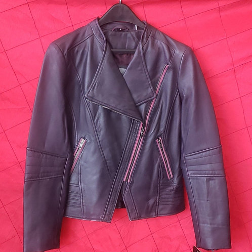 Ladies lambskin fashion jacket