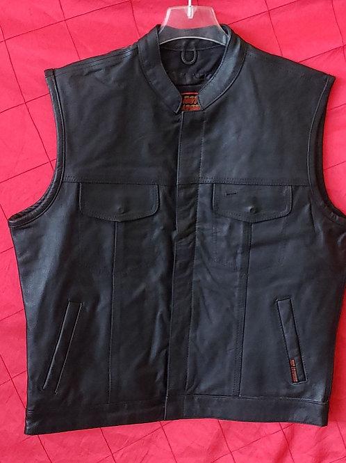 Leather club vest