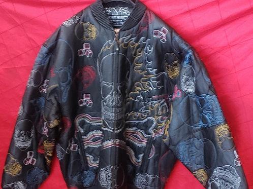 Mens skull jacket