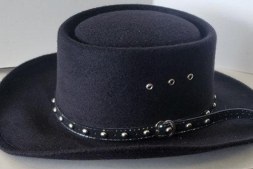 Black Stetson hat