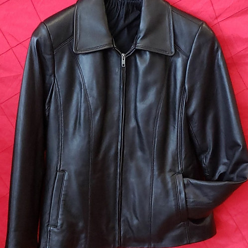 Ladies lambskin jacket