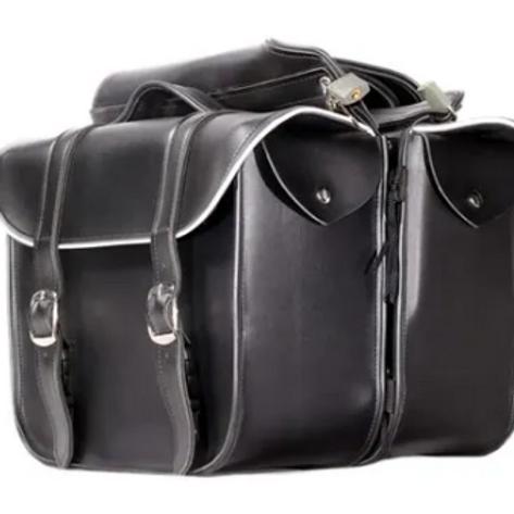 Reflector saddlebags