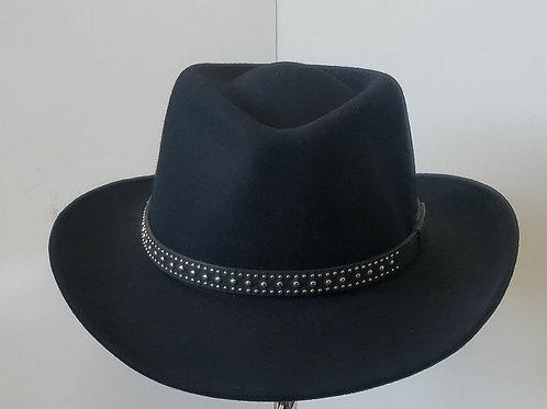 Crushable waterproof felt like hats