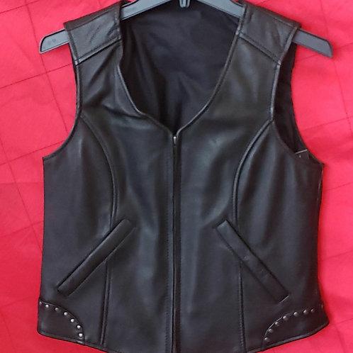 Ladies studded vest