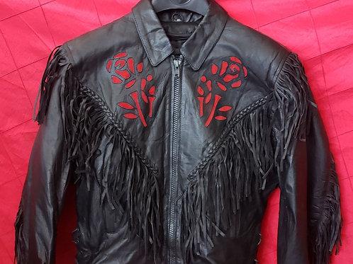 Ladies Red rose jacket