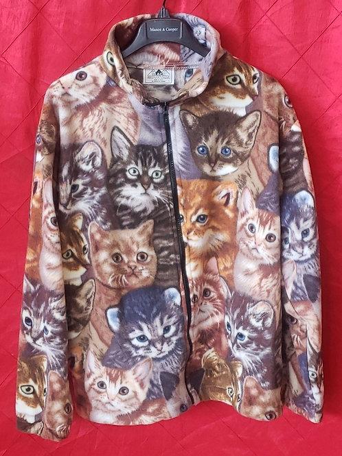 Kitty cat fleece