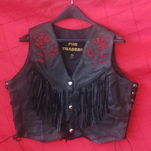 ladies rose vest
