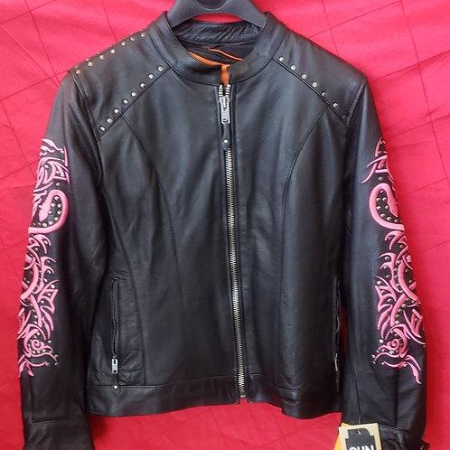 Ladies Pink snake jacket