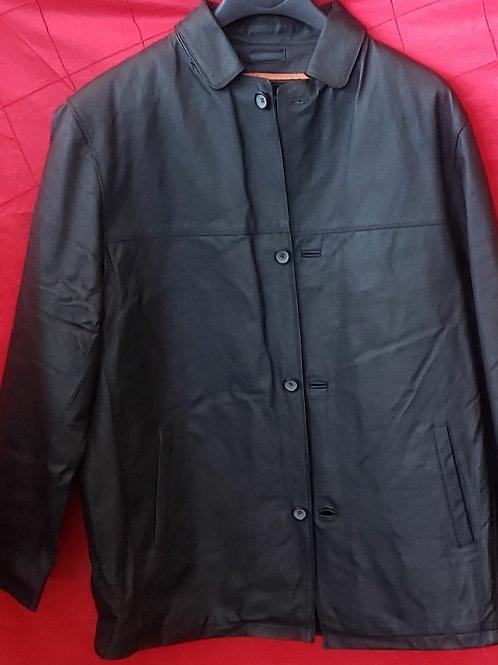 Mens button car coat