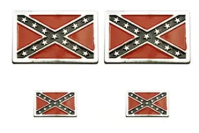 Confederate pins