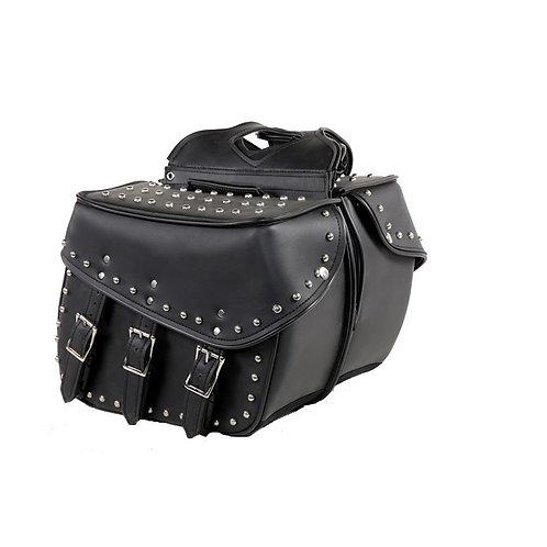 Studded saddlebags