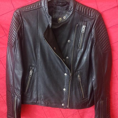 Ladies fashion lambskin jacket