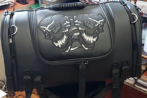 Skull sissybar bag