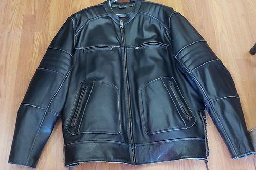 Men's Brown distressed jacket