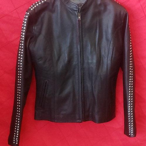 Ladies studded jacket
