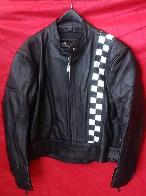 Men's leather finish line