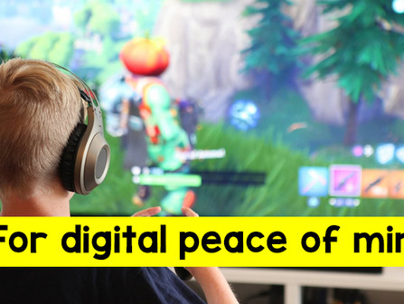 For digital peace of mind...