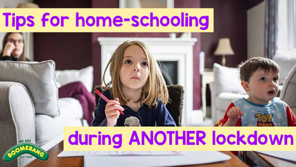 Tips for home-schooling children during ANOTHER lockdown...