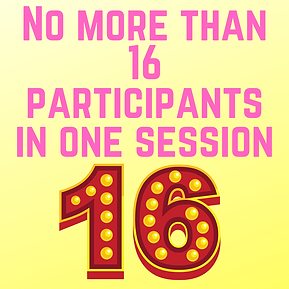 8 - 18 year old participants only __ (4)