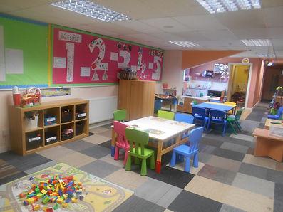 pre-school nursery room