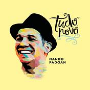 Capa do CD Tudo Novo - Nando Padoan