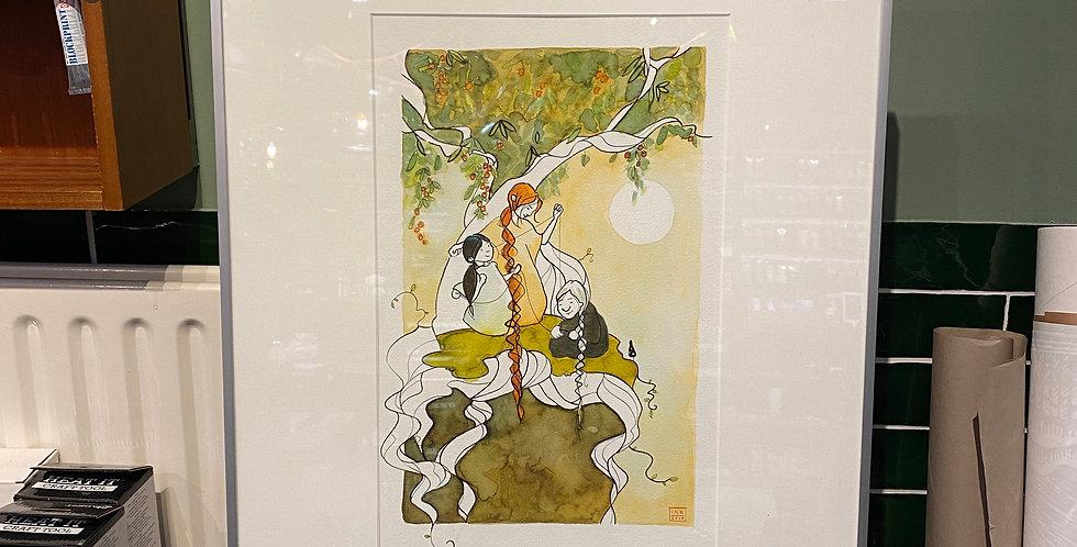 Originele illustratie 'Yggdrasil'