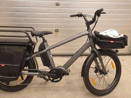 Nå kan du låne elektrisk lastesykkel!